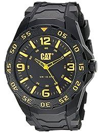 Caterpillar LB.111.21.137 Reloj Análogo de Lujo, para Hombre, negro