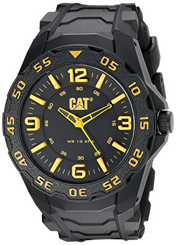 Amazon.com: CAT WATCHES Mens LB11121137 Motion Analog Display Quartz Black Watch: CAT WATCHES: Watches