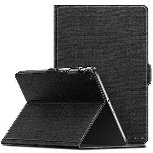 axy Tab A 10.1 2019 Case, Multiple Angle Stand Cover Compatible with Samsung Galaxy Tab A 10.1 Inch Model SM-T510/SM-T515 2019 Release Tablet, Black ()