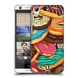 Head Case Designs Overload Doughnuts Hard Back Case for HTC Desire 626
