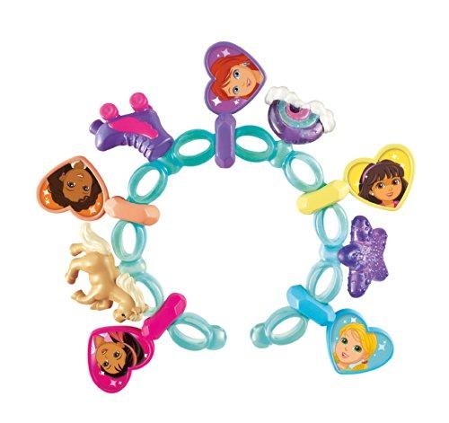 Fisher-Price Nickelodeon Dora and Friends Dora Magic Charm Bracelet (Dora The Explorer Charms)