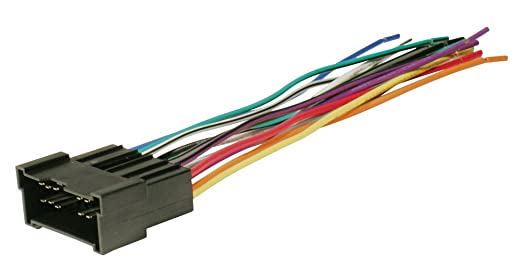 amazon com scosche radio wiring harness for 2003 up kia car scosche radio wiring harness for 2003 up kia car stereo connector