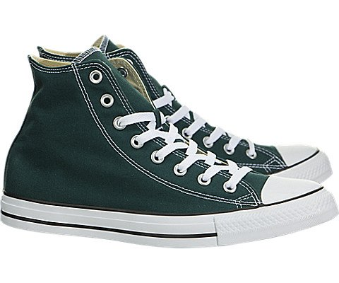 Converse - Adult Chuck Taylor All Star Hi Top Shoes, Size: 8 D(M) US Mens / 10 B(M) US Womens, Color: Dark Atomic Teal