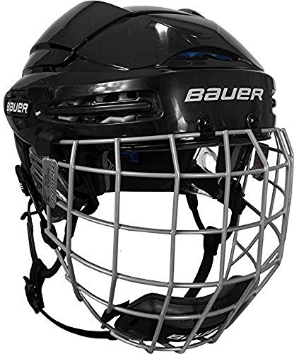 Hockey Combo Helmets Helmet (Bauer 5100 Hockey Helmet Combo - 2014, Small, Black)