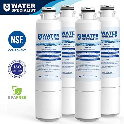 Price comparison product image Waterspecialist DA29-00020B Refrigerator Water Filter Replacement for Samsung DA29-00020B,  DA29-00020A,  HAF-CIN / EXP,  46-9101