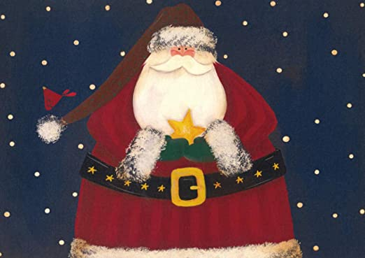 ndegdgswg Bricolaje Pintura al óleo Santa Claus Navidad ...
