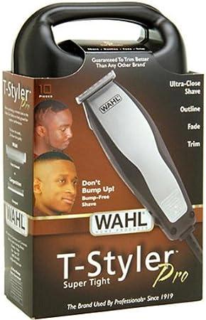 Wahl T-Styler Pro - Afeitadora Negro, Plata: Amazon.es: Salud y cuidado personal
