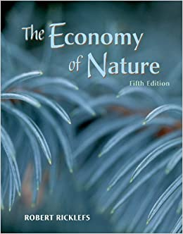 Book The Economy of Nature, Fifth Edition Fifth edition by Ricklefs, Robert E. (2000)
