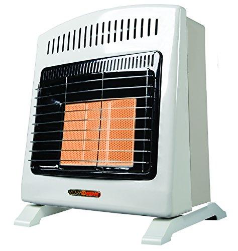 Calefactor de Ambiente de Pared Heat Wave HG3W de gas Natural con Tres Radiantes.