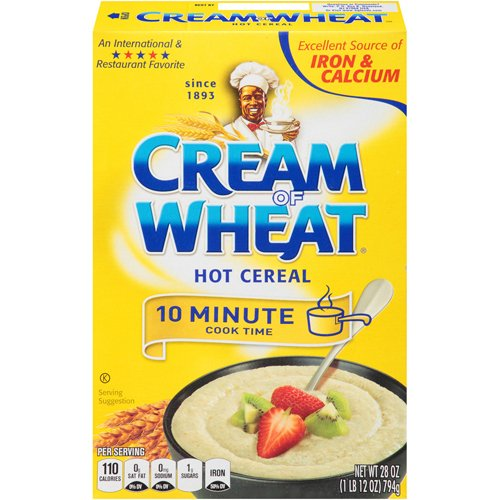 Cream of Wheat Regular Wheat Cereal, 28 Ounce - 12 per case. by BG