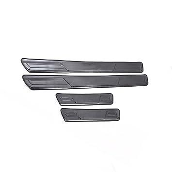 Cubierta para umbral de umbral de puerta de coche, barra de acero inoxidable, protector de panel de placa para CX-3: Amazon.es: Coche y moto