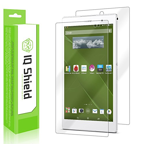 Sony Xperia Z3 Tablet Compact Screen Protector, IQ Shield LiQuidSkin Full Body Skin + Full Coverage Screen Protector for Sony Xperia Z3 Tablet Compact HD Clear Anti-Bubble Film with