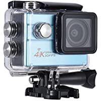 Andoer 2.0 LCD Wifi Action Sports Camera Ultra HD 16MP 4K 30FPS 1080P 60FPS 4X Zoom 170 Degree Wide-Lens Support Image Rotation Time Watermark Waterproof 30M Car DVR DV Cam Diving Bicycle