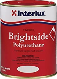 Interlux Brightside Polyurethane Topside Boat Paint Dark Blue Quart by Interlux