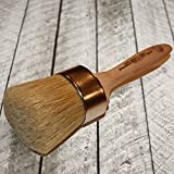 Chalk Painter's Choice-XL Oval Professional Paint & Wax Brush (O20)