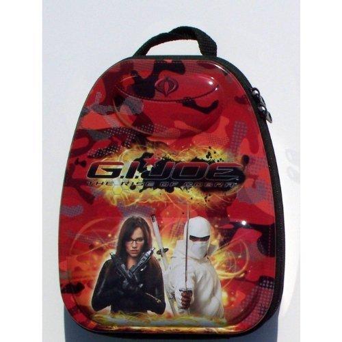 GI Joe - Tin Embossed Red Mini Backpack Lunch Box
