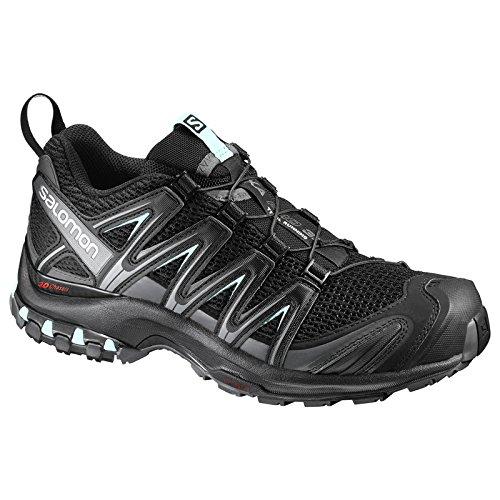 Pro Chaussures Salomon Femme bleu XA de 3D Trail noir pâle gris w1Z5qZpxA