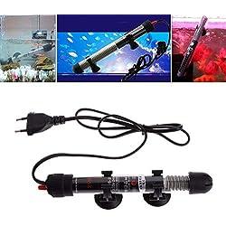 Viet-GT Temperature Control Products - EU Plug Fish Tank Aquarium Digital Thermometers Adjustable Water Temperature Thermostat Heater Rod 1 PCs