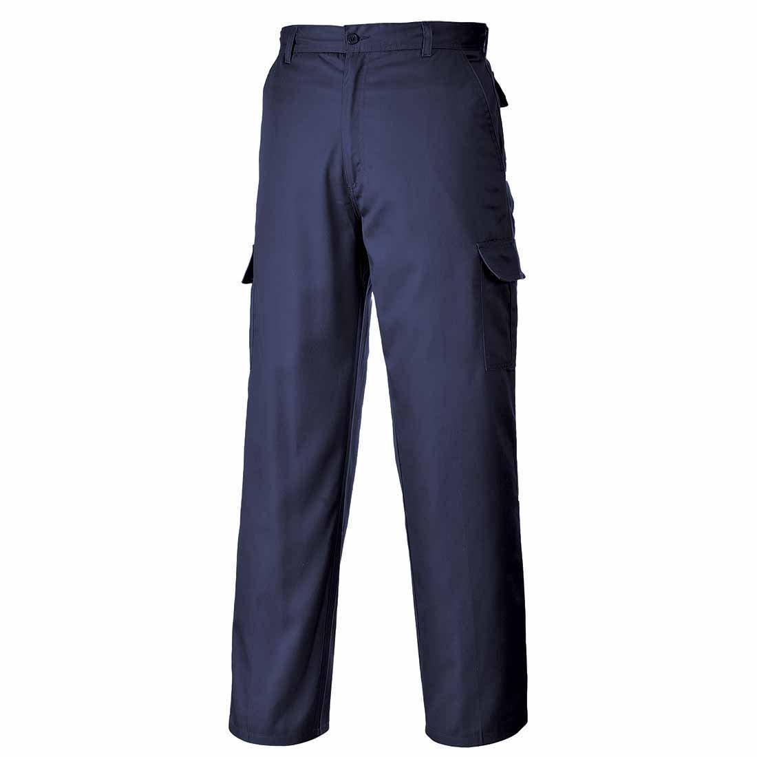 Portwest Mens Classic Cargo Pocket Combat Trousers Pants