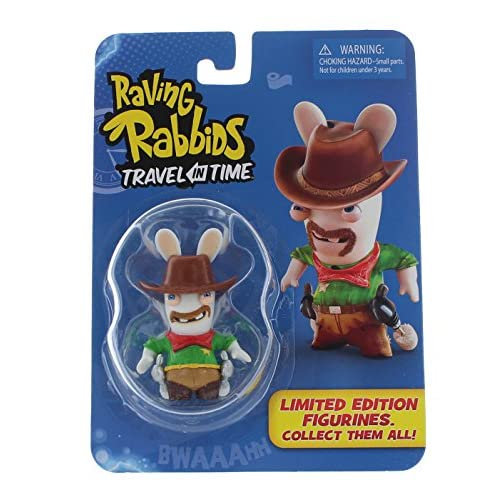 """Raving Rabbids """"Travel in Time"""" Collectible Figurine - """"Cowboy"""""""