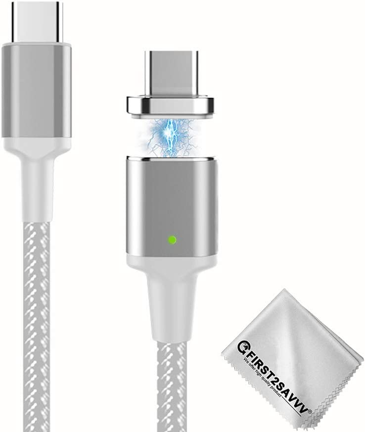 First2savvv MC3 Magnetic USB C Charging Cable For MacBook