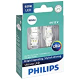 Philips 921 Ultinon LED Bulb (White), 2 Pack