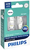 Philips 921WLED Ultinon LED Bulb (White), 2 Pack