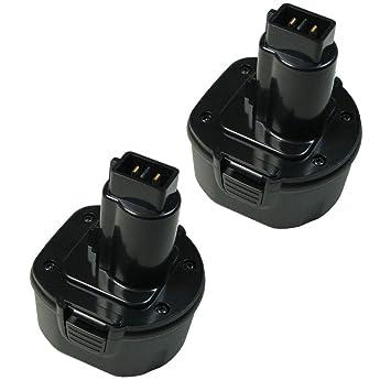 2x AKKU für Dewalt 9,6V 3000mAh Ni-Mh ersetzt 246536 A9251 DE9036 DE9061