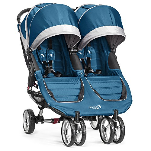 Baby Jogger City Mini Double Stroller, Teal/Gray (Double Stroller City Mini)