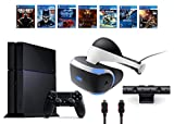 PlayStation VR Bundle 9 Items:VR Headset,Playstation Camera,PS4 Call of Duty Black Ops III,6 VR Game Disc Until Dawn,Rush of Blood,EVE: Valkyrie, Battlezone,Batman:Arkham VR, DriveClub,Battlezone