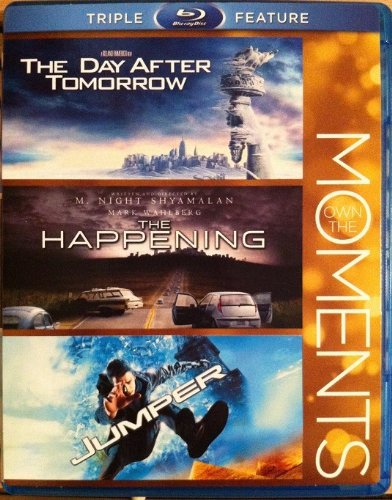 Own the Moments: The Day After Tomorrow, the Happening, Jumper (2012)