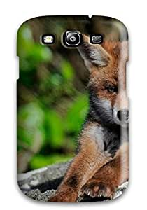 New Arrival Premium S3 Case Cover For Galaxy (fox Animal Picture)