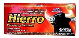 Iron Reinforzed with Vitamins for Anemia Eliminates Fatigue Increasing Energy Anemiasyn Hierro Vitaminado Ampolletas