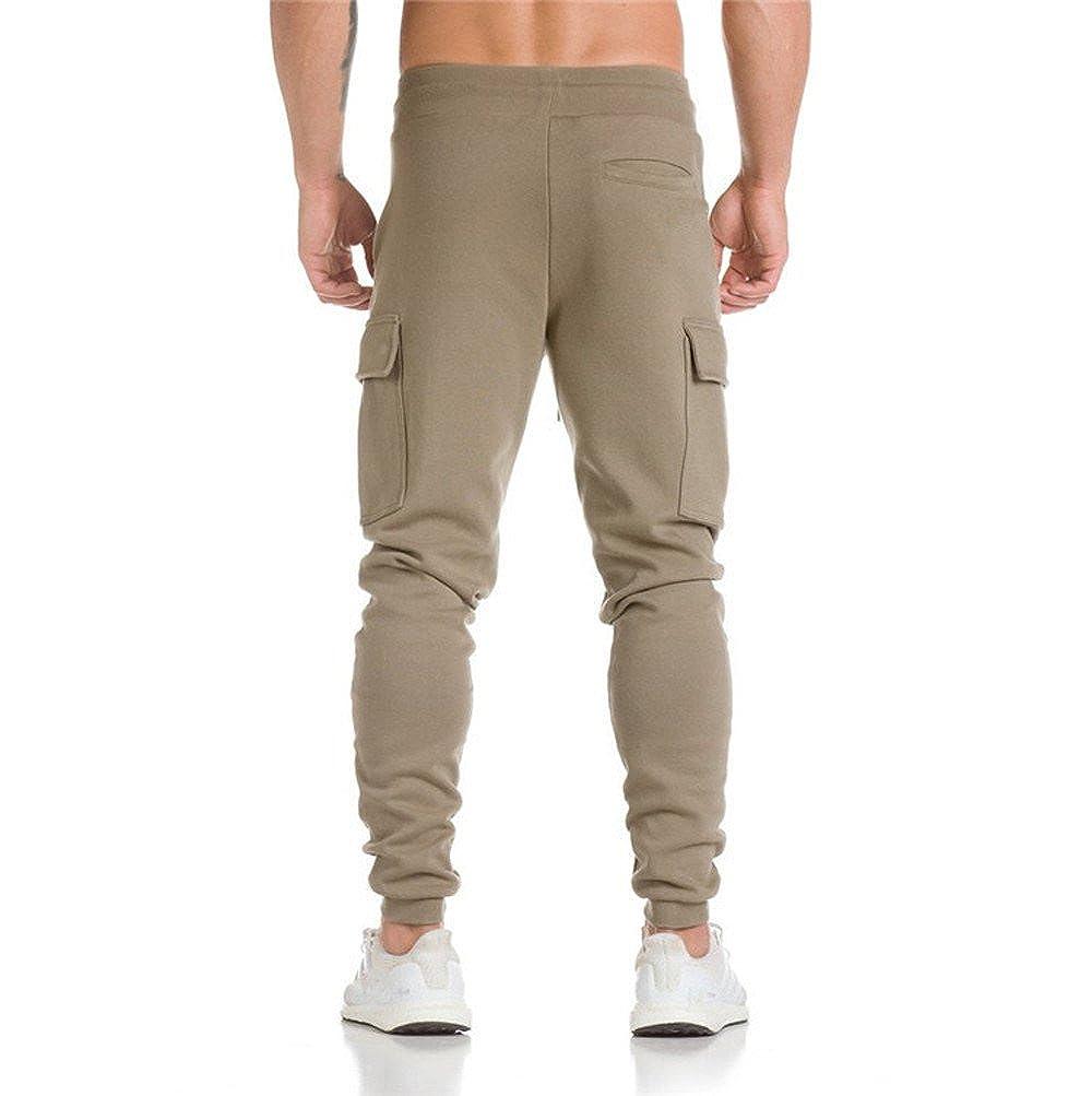 YKARITIANNA Mens Pants Harem Slacks Athletic Track Jogger Trousers Dance Sportwear Baggy Sweatpants