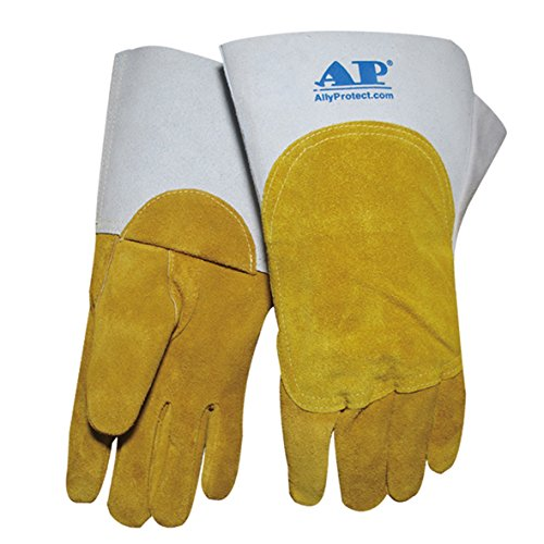 AP-1105 Golden Grain Calfskin TIG/MIG gloves / Size XL by AP