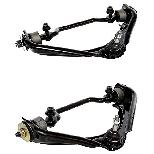 Prime Choice Auto Parts CAK841-842 Pair of Front Upper Control Arms with Ball Joints (Auto Parts Ball Joints)