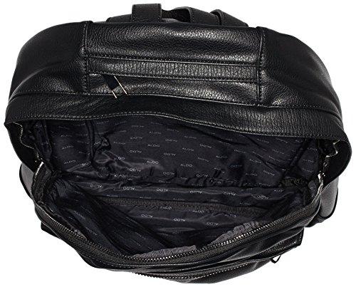 ALDO ROEWEN Herren Schultertaschen 11x34x42 cm (B x H x T), Schwarz (Black Leather/97)