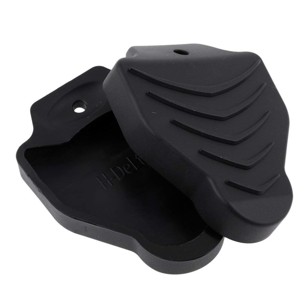 Thinvik Cleat Covers Bicycle Shoe Clipless Protector for Look Delta Pedal Cleats Systems(1 Pair) by Thinvik (Image #3)