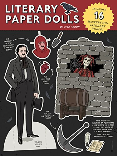 Witty Couple Costumes (Literary Paper Dolls)