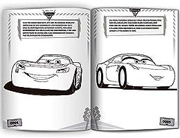 Ler E Colorir Carros 3 Livros Na Amazon Brasil 9788594722348