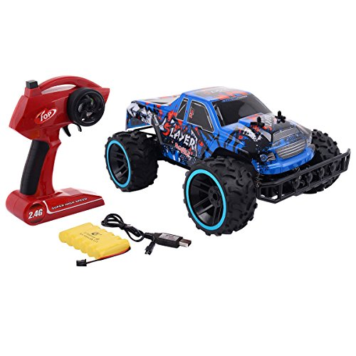Blue 1:12 2.4G RC Car Super High-Speed Remote Control Sport Racing Car Toys & Hobbies Radio Control & Control Line RC Model Vehicles & Kits Cars, Trucks & Motorcycles Boy Child Juvenile Kid from Lek Store