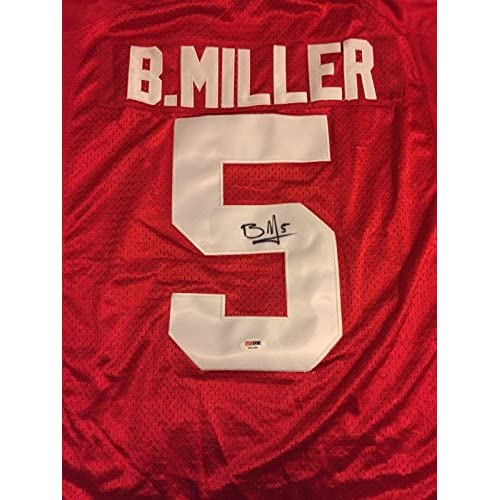 f5143c490 on sale Signed Braxton Miller Jersey - Ohio State Buckeyes - PSA DNA  Certified - Autographed NFL Jerseys