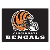 """Fan Mats Cincinnati Bengals All-Star Rug, 34"""" x 45"""""""