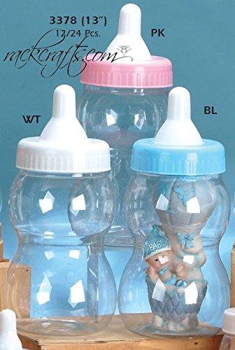 rackcrafts.com Jumbo Large Bottle Baby Shower Nursery Party Favor Decoration Plastic Piggy Bank -