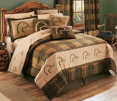 Ducks Unlimited Plaid Comforter Set - Full Size