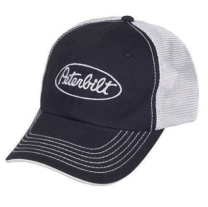 Amazon.com  Peterbilt Motors Mesh Back Black Cap  Sports   Outdoors 9043c4af04c