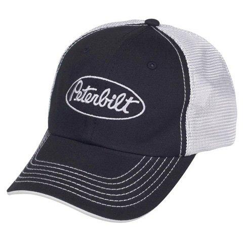 Peterbilt Motors Mesh Back Black Cap