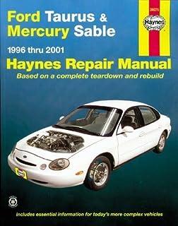 ford taurus sable 1996 05 repair manual chilton total car care rh amazon com 2000 Ford Taurus Sedan 2002 Ford Taurus SE Wagon