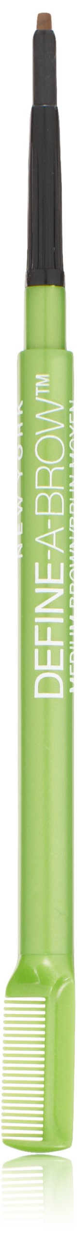 Maybelline New York Define-A-Brow Eyebrow Pencil, 643 Medium Brown, 0.0010 Ounce
