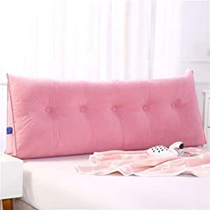 24x20x8inch Upholstered Wedge Pillow Triangular Headboard Cushion,seat Cushioning Backrest Positioning Support Bed Reading Pillow Cover Lumbar Pad Office-a 60x50x20cm
